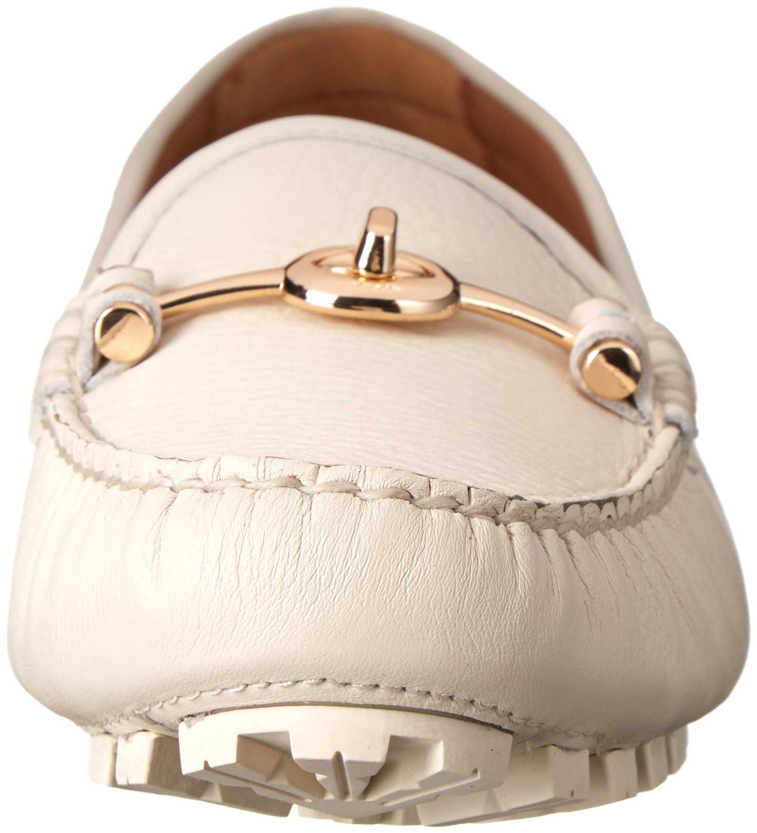 COACH Women's Arlene Chalk Pebble Grain Leather Flat by Coach (Image #4)