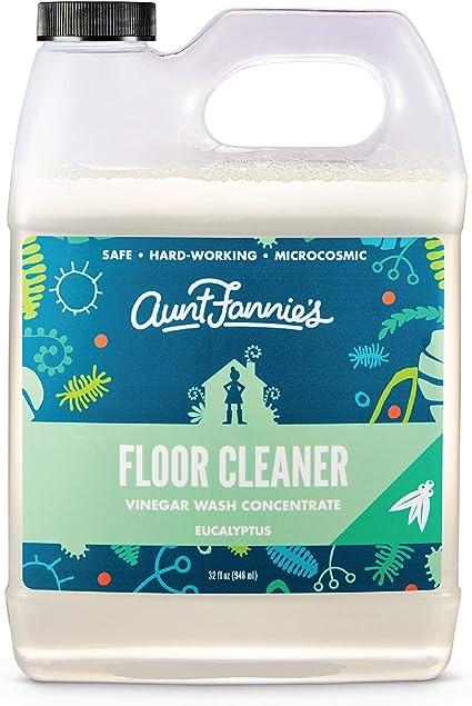 Amazon Com Aunt Fannies Vinegar Wash Floor Cleaner Eucalyptus