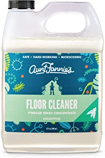 product image for Aunt Fannie's Floor Cleaner Vinegar Wash - Multi-Surface Cleaner, 32 oz. (Single Bottle, Eucalyptus)