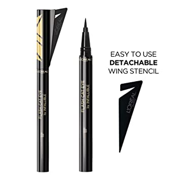 9ad8e6e055a L'Oreal Paris Makeup Flash Cat Eye by Infallible, Waterproof Liquid  Eyeliner, Easy