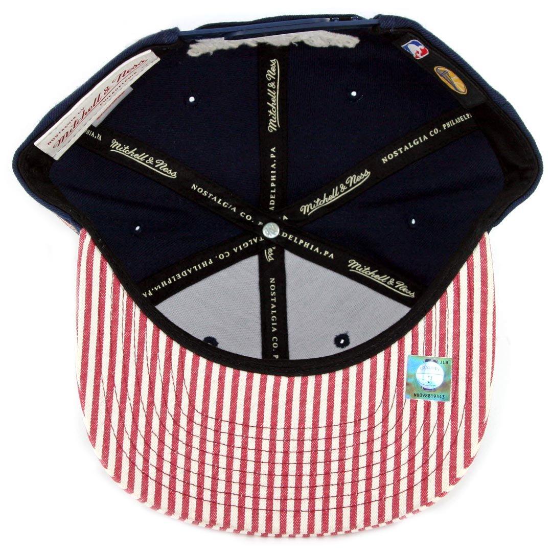 a6fec7fc7e4 Amazon.com   Mitchell   Ness NBA OG USA Navy Adjustable Snapback Hat  (Chicago Bulls)   Sports   Outdoors