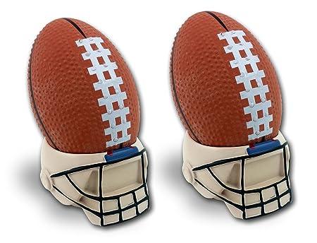 Chorus Enterprises Balón de fútbol con casco soporte, 2 unidades ...