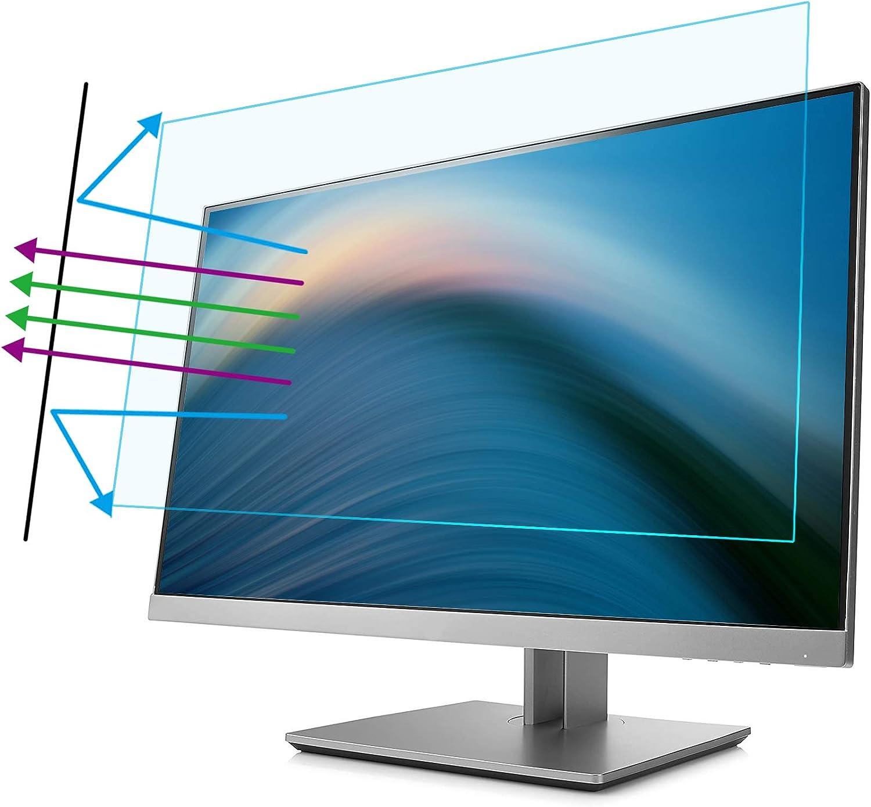 Gmsqj 23//24 Zoll Computer Blaulicht Blockierende Displayschutzfolie Anti-UV-Augenschutz Filterfolie F/ür Diagonale 16 9 Widescreen Desktop PC LED Monitor Panel,24 inch