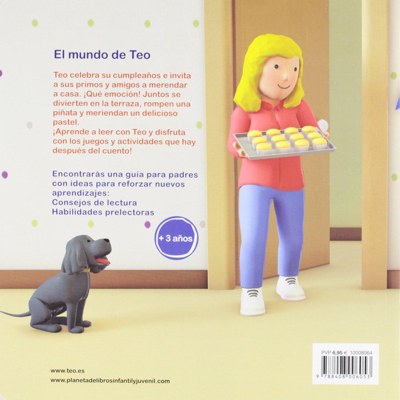 El Cumpleaños De Teo Spanish Edition Violeta Denou