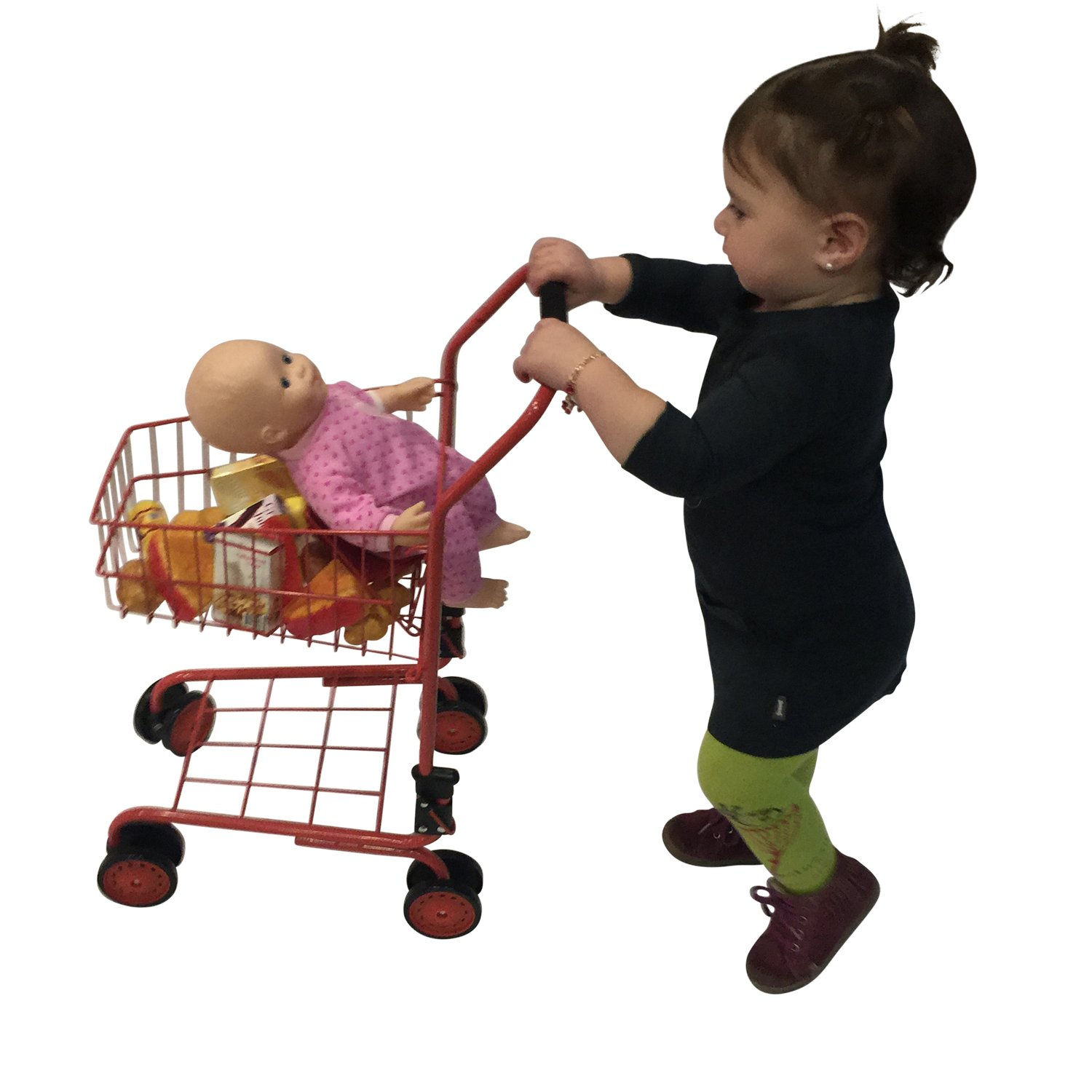 Amazon Toy shopping cart for kids and toddler Pretend Play