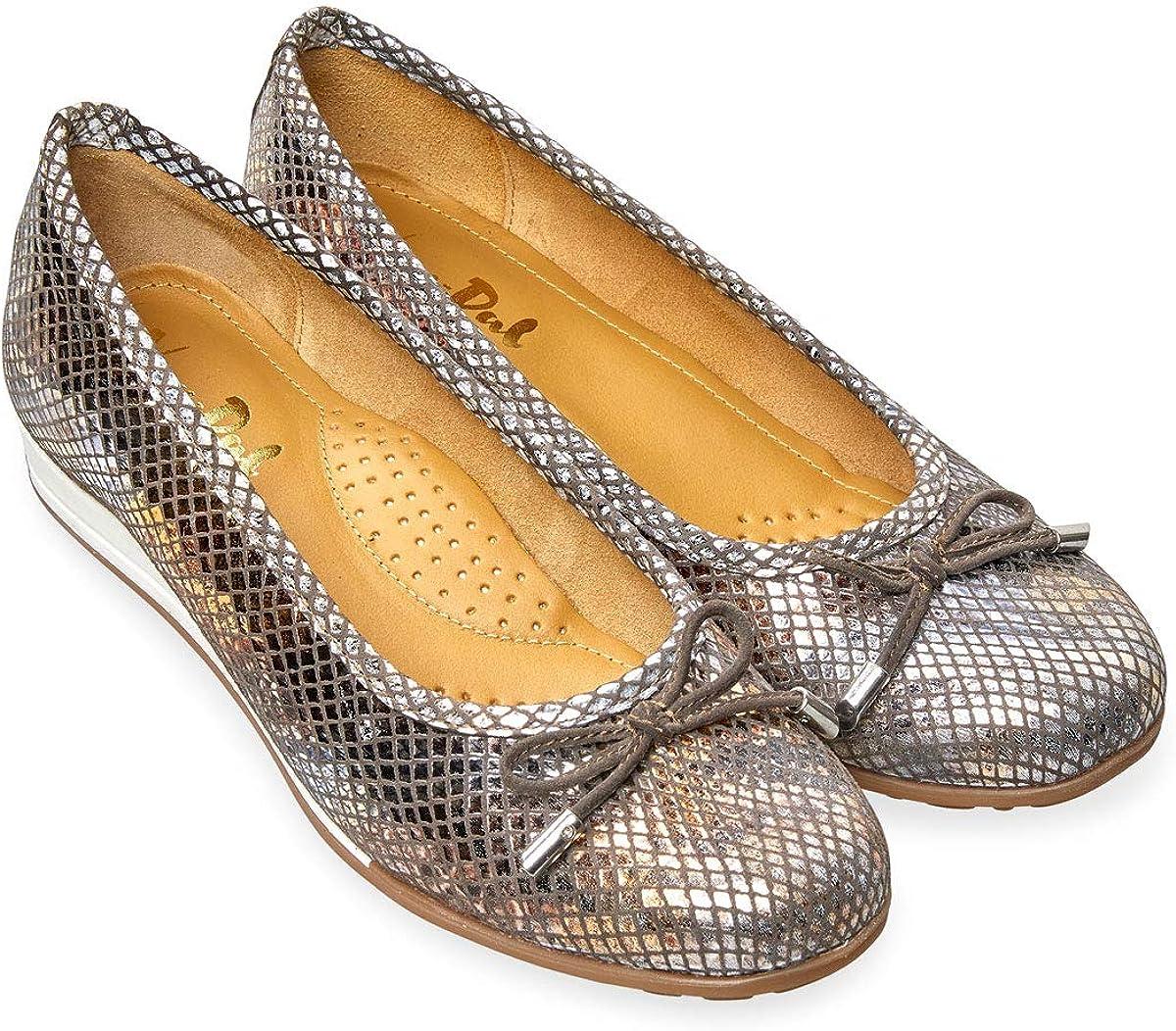 Van Dal Womens Medford Leather Ballet Pumps