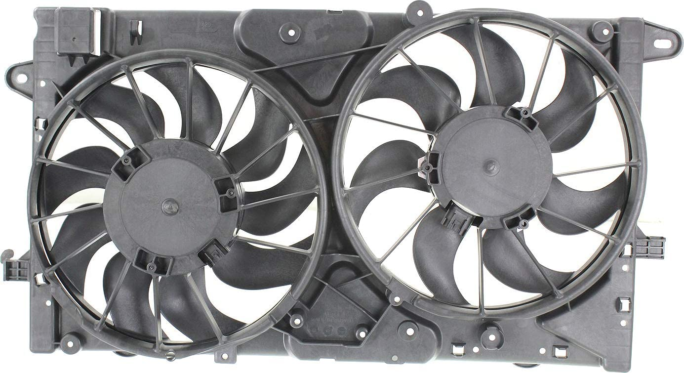 GM3115249 OE Style Radiator Cooling Fan Assembly for Chevy Malibu Limited 2.0T 2.5L 13-15