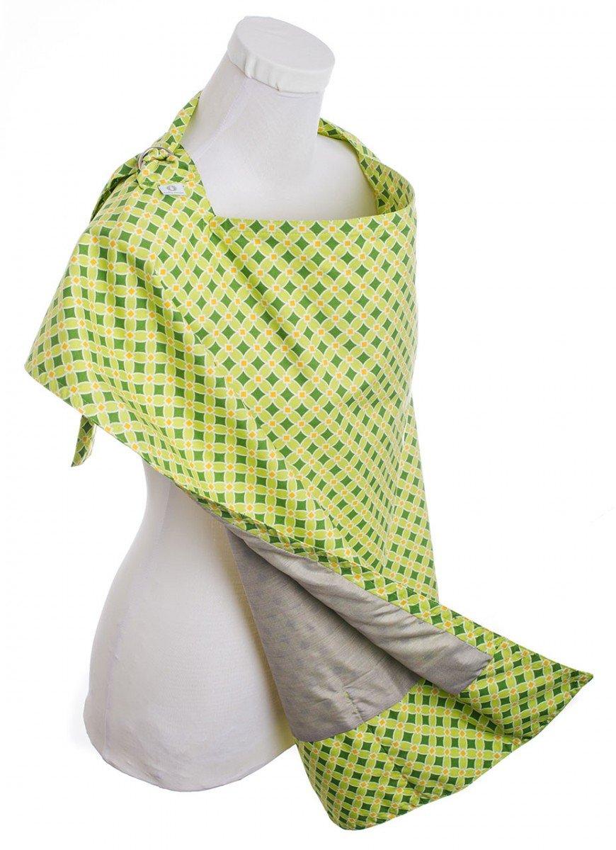 Belly Armor Nursing Cover with Anti-Radiation Shielding Fabric (Mint) RadiaShield Technologies NC.MI.07.13.00050