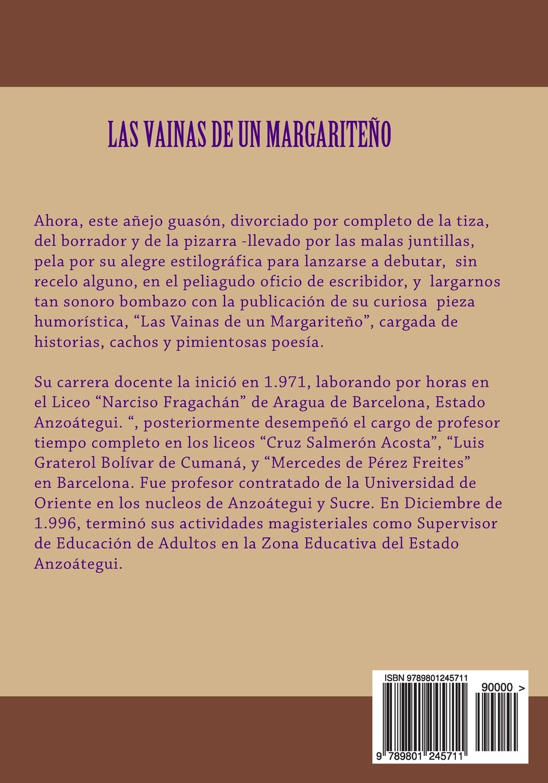 Las Vainas de un Margariteño (Spanish Edition): Tomas Manuel ...