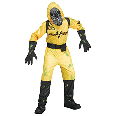 The Boy's Sound FX Bio Hazard Costume: Clothing