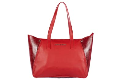 ab3463fc0411 Armani Jeans women s shoulder bag original aj red  Amazon.co.uk ...