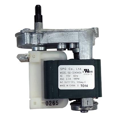 Supco Series IMM6201 Ice Dispenser Auger Motor 242221501
