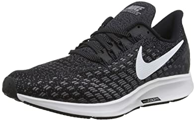 new arrival 652b5 5a59c Nike Men s Air Zoom Pegasus 35 Running Shoe (6 M US, Black White
