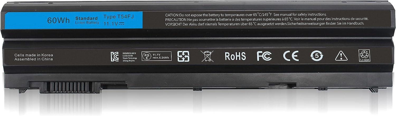 Shareway T54FJ T54F3 Replacement Laptop Battery Compatible with Dell Inspiron 14R-SE 15R-SE 17R-SE Series Latitude E6420 E6540 E6440 E5420 E5430 Vostro 3460 3560 8858X M5Y0X 71R31 11.1V 60WH