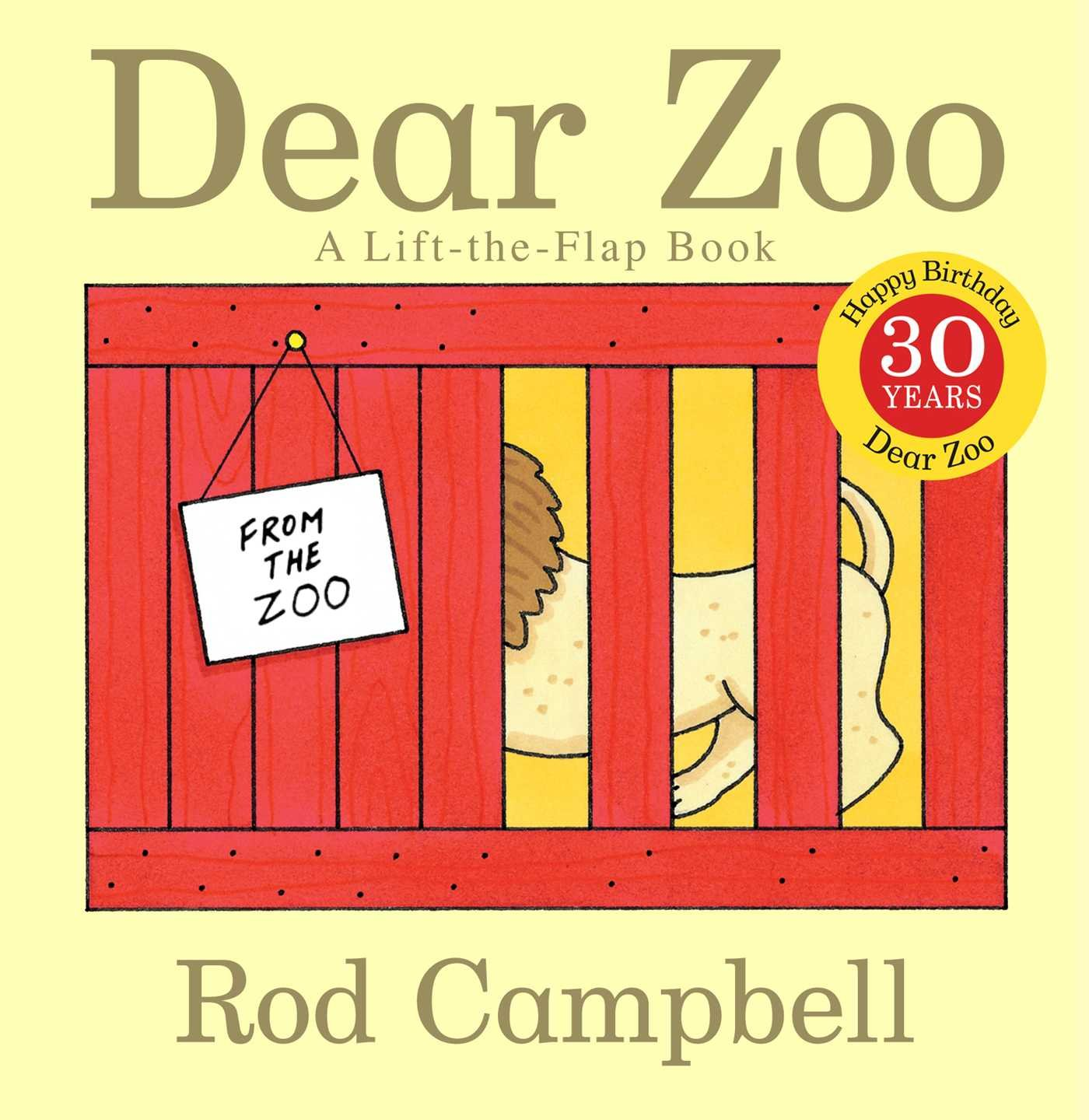 Dear Zoo Lift Flap Book product image
