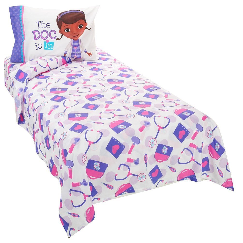 Disney Junior Doc McStuffin 3 PieceTwin Sheet Set