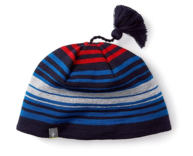 SmartWool Men s Straightline Hat (Bright Blue Deep Navy Heather) 1SFM -  Past Season 4ff28492285