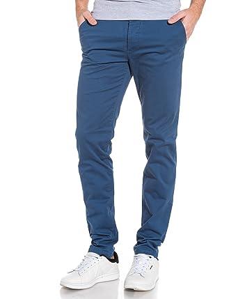 4c47edecb21c Jack and Jones - Chino Navy Blue Slim fit Mann Marco - Color  Blau, Size   FR 46 US 36  Amazon.de  Bekleidung