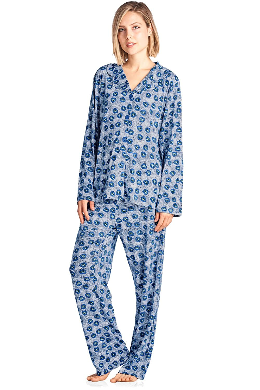 BHPJ By Bedhead Pajamas Women's Lighweight Soft Knit Pajama Set BHPJ 10033