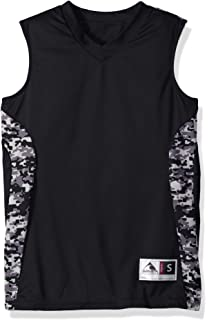 Amazon.com   Augusta Sportswear Mens Hook Shot Reversible Jersey ... 2c4b40742