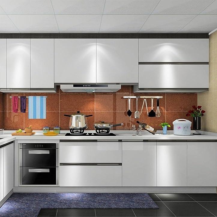 Humtool 5X0.61M Grau Küchenschrank-Aufkleber Selbstklebend