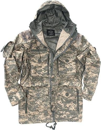 Helikon Tactical PCS Smock Windproof Mens Jacket Military Security Parka Black