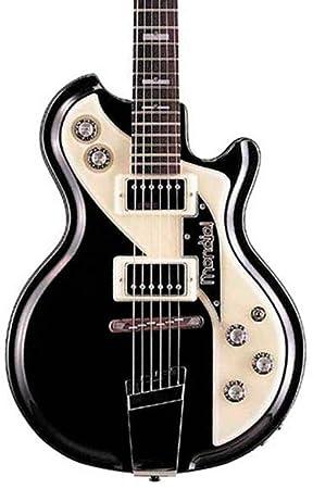 Italia Mondial Classic Semi-Hollow guitarra eléctrica Negro: Amazon.es: Instrumentos musicales