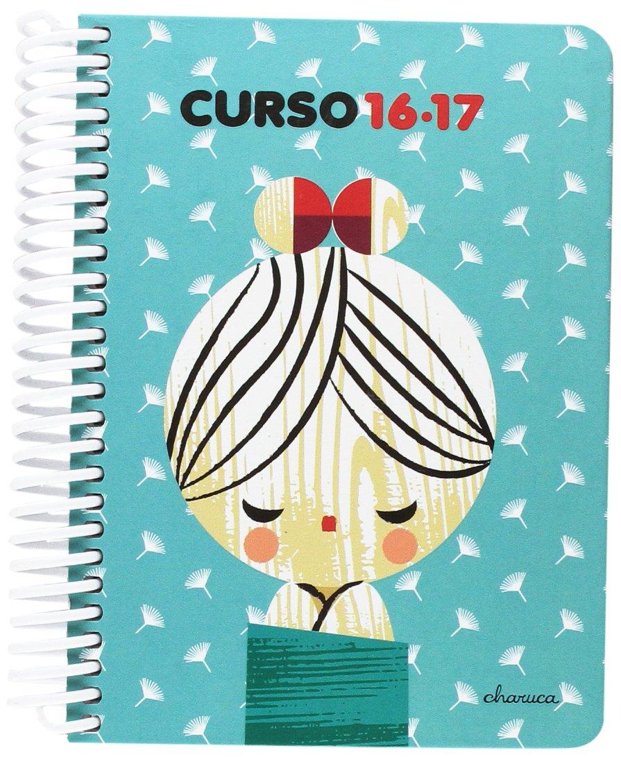 Grafoplas 75170433 Charuca - Agenda escolar diseño, azul, A6 ...