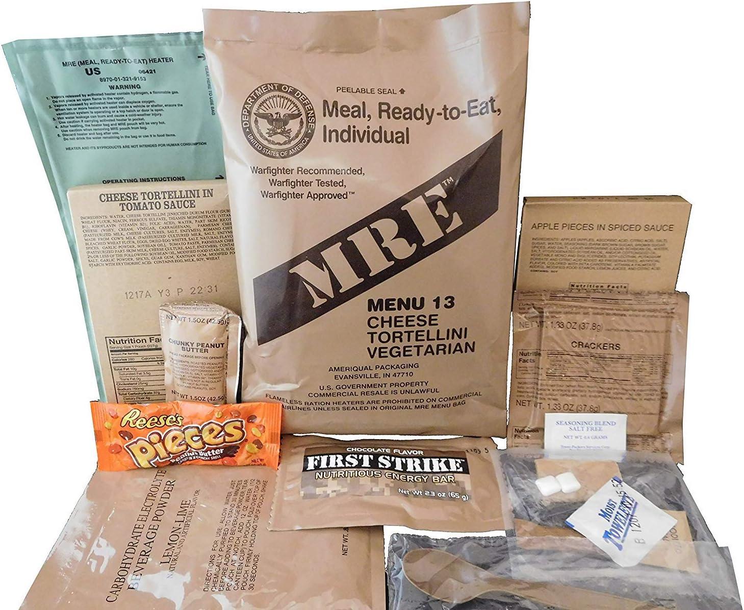 MRE (Meals Ready-to-Eat) – Racionamiento original de los ...