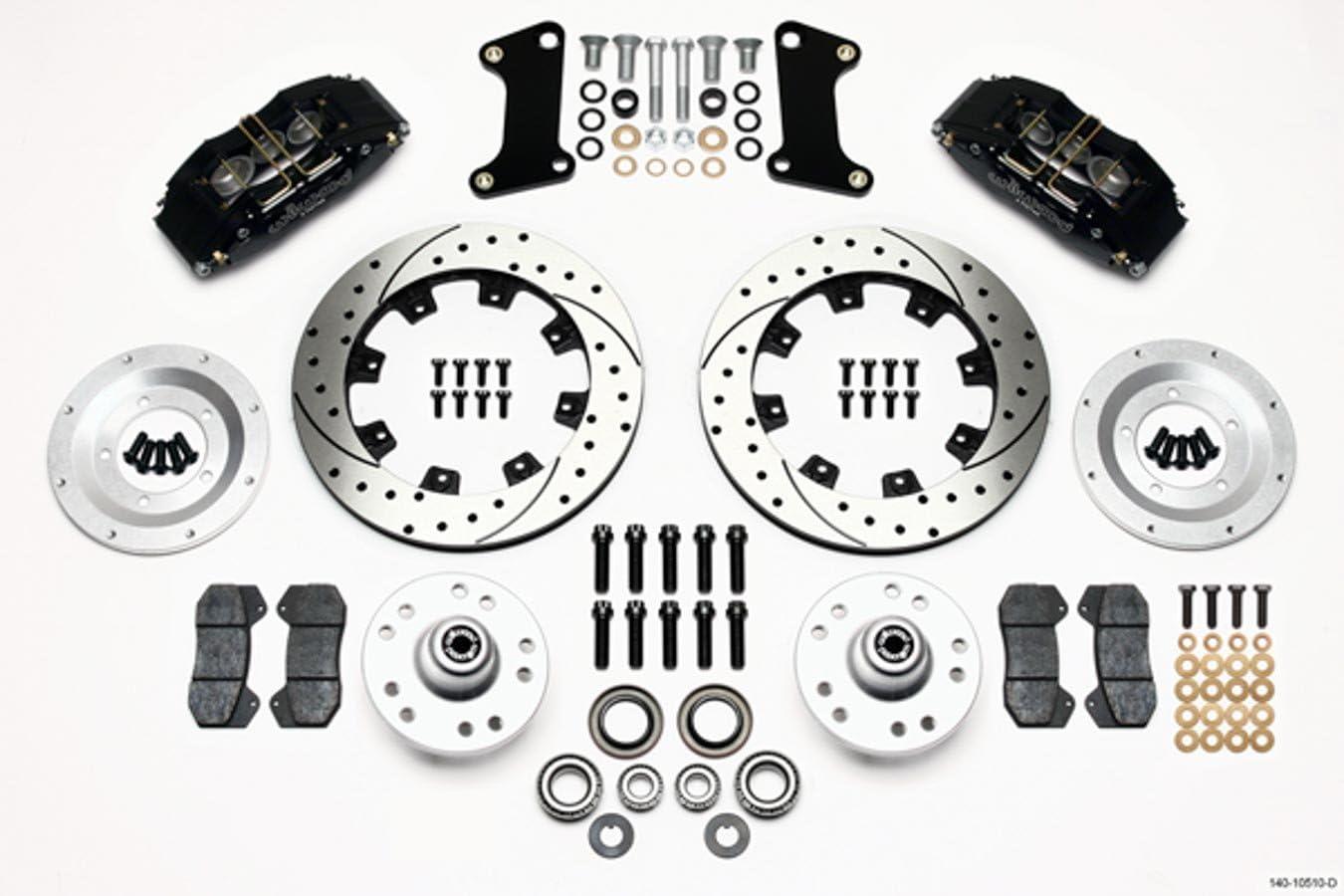 Wilwood 140-10510-D Front Disc Brake Kit 67-69 Camaro 12.19 Rotor