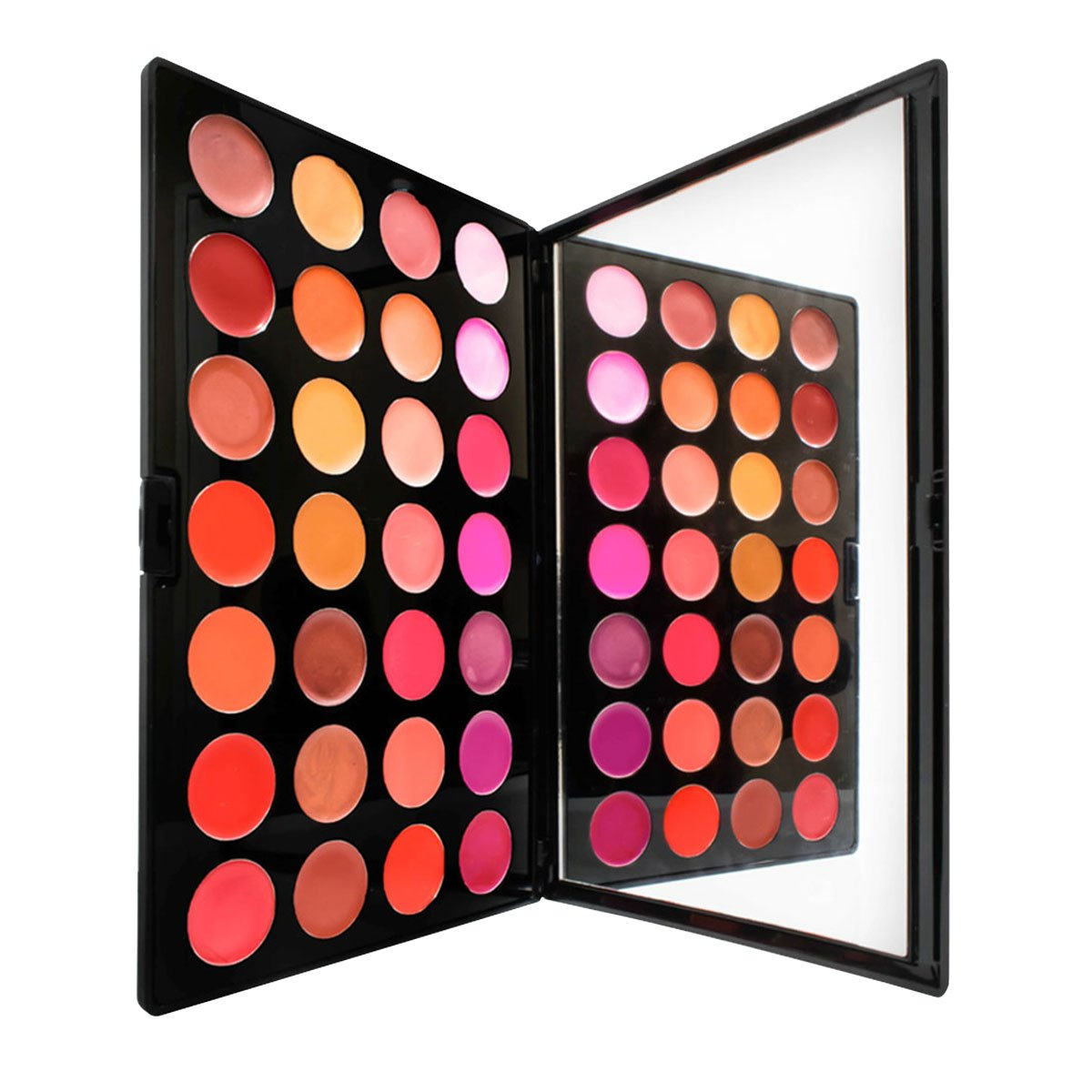 Lipstick Palette by Sacha Cosmetics, Professional Moisturizing Long Lasting Lip Stick Kit, Color Intense Makeup for All Skin Tones