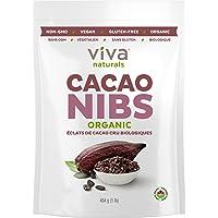 Viva Naturals - Organic Raw Cacao Nibs, 1 lbs Bag