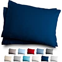 Bare Home King Flannel Pillowcase Set - 100% Cotton - Velvety Soft Heavyweight - Double Brushed Flannel (King Pillowcase…