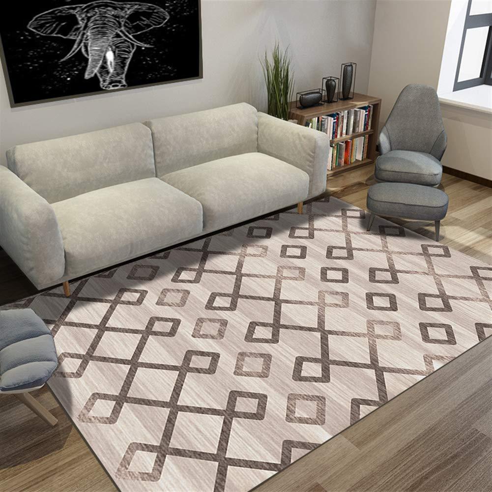 Insun Teppich Skandinavischer Stil Teppich Teppich Teppich Moderner Geometrische Formen Teppich Anti Rutsch Abwaschbarer Stil 24 160x200cm B07KC4KRQP Teppiche fee2a1
