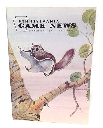 Amazon com : September 1976, Pennsylvania Game News Magazine
