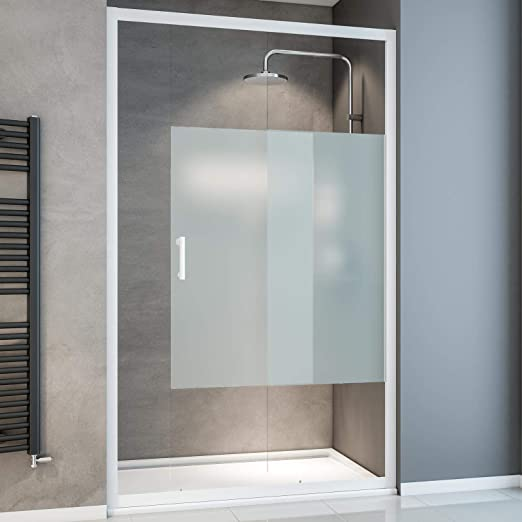 Schulte EP395710 Sunny - Puerta corredera (120 x 190 cm, varios colores y tipos de cristal, cabina de ducha para montaje en plato de ducha y azulejos), Ep395710 04 117: Amazon.es: Bricolaje y herramientas