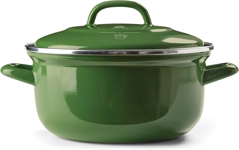 BK Cookware CC002471-001 Dutch Oven 3.5QT, Green