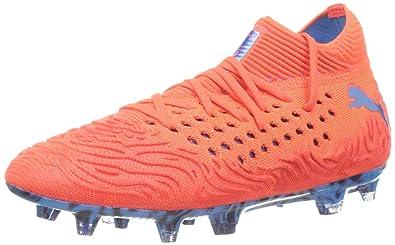 7232c05574 Puma Unisex-Kinder Future 19.1 Netfit FG/AG Jr Fußballschuhe: Amazon ...