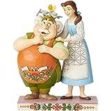 Cogsworth et Lumiere /à Suspendre D/écorations pour Arbre de No/ël par Jim Shore Enesco Disney Traditions Lot de beaut/é et la b/ête Mme Potts et Chip