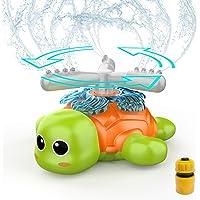 FOSUBOO Outdoor Tuin Speelgoed voor peuters, Water Sprinkler voor kinderen, Water speelgoed voor waterspelen, Spinning…