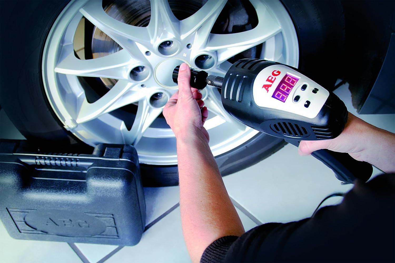 AEG 97135 SD 340 - Destornillador de Impacto con preselección Digital de la Velocidad (de 80 a 340 NM, 12 V, con maletín y Juego de Accesorios): Amazon.es: ...
