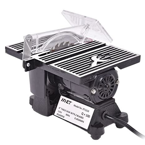 Goplus Electric Table Saw 4 Mini Tablesaw 8500 Rpm Hobby And Craft