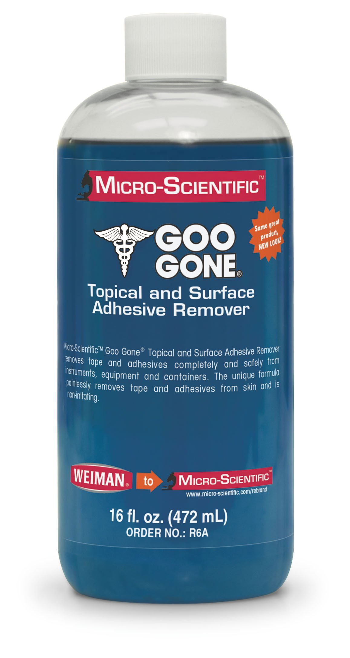 Micro-Scientific Goo Gone Topical Adhesive Remover for Skin - Bandage & Surface Adhesive Remover for Healthcare/Medical Application by Micro-Scientific