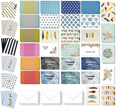 All Occasion Cards Assortment Congratulations Cards etc! Birthday 50 Blank Cards with Envelopes and Greeting Cards Stickers Thank You