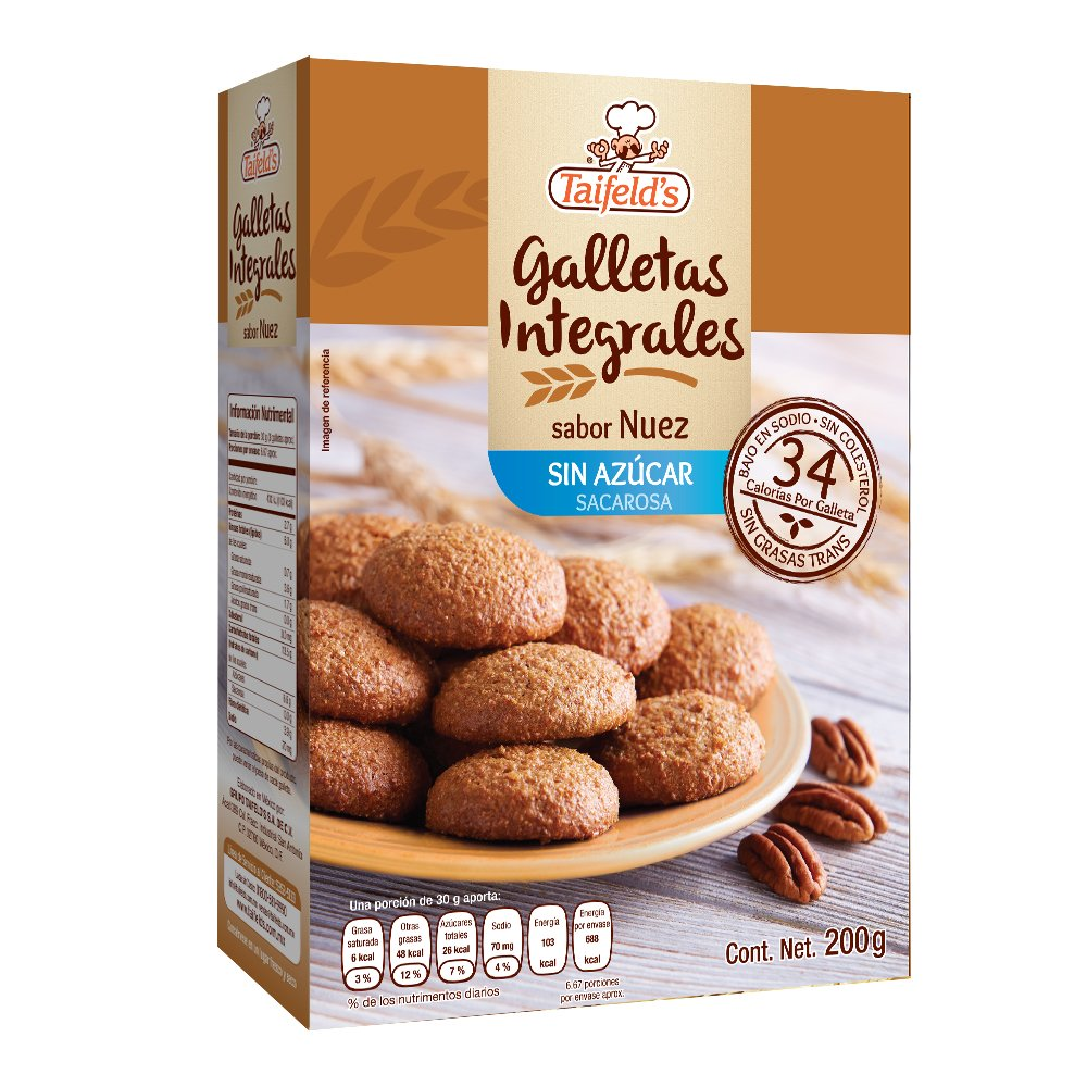 Whole Wheat Walnut flavored Cookies