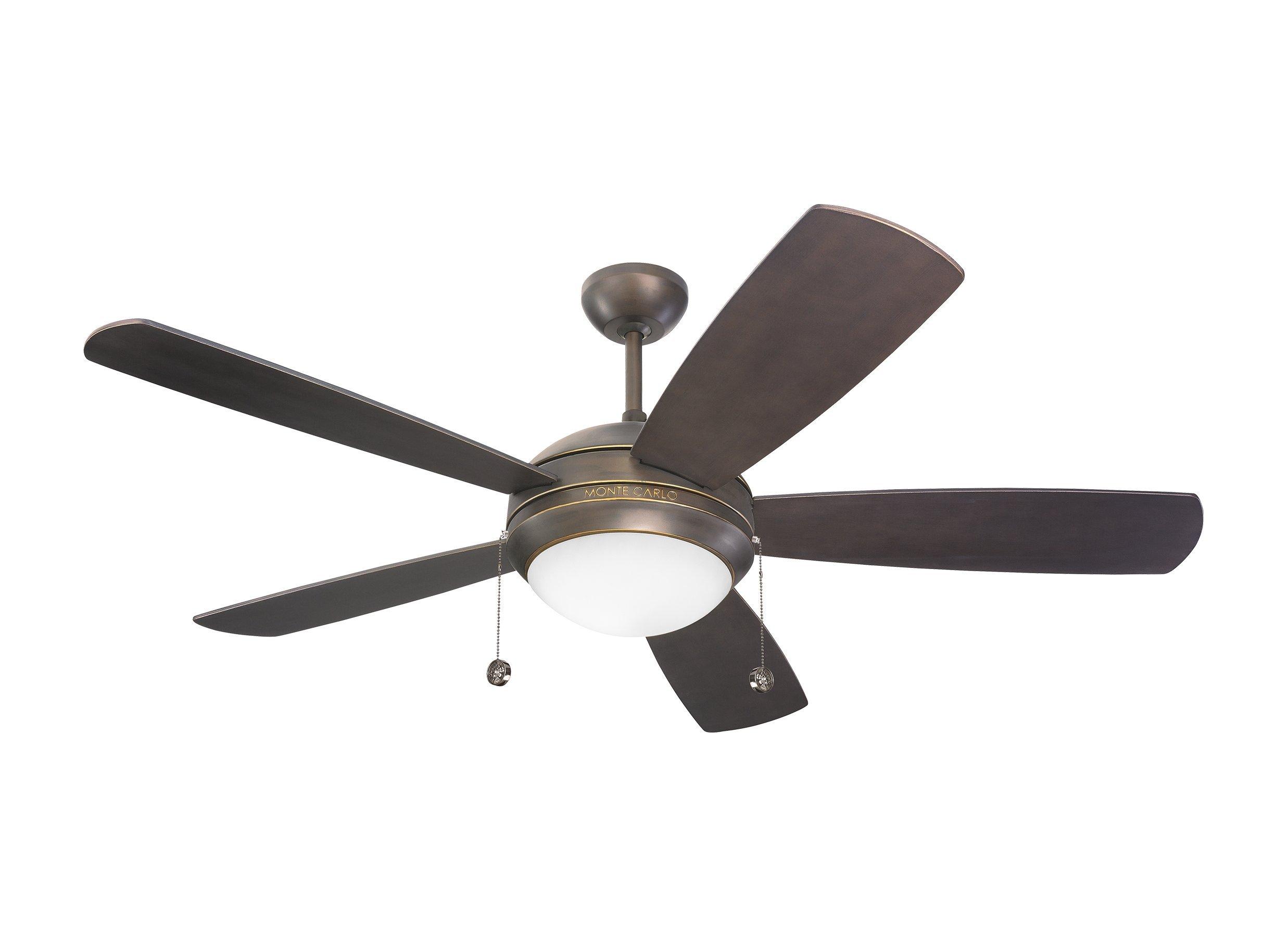 Monte Carlo 5DI52RBD-L, Discus,  52'' Ceiling Fan,  Roman Bronze
