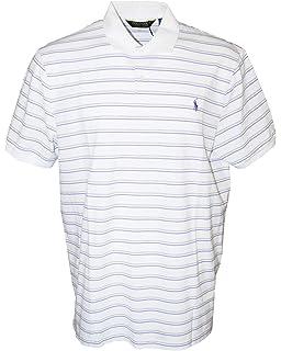 b9fa1557fd Polo Ralph Lauren Performance Lisle Polo Shirt (Small, New Iris ...