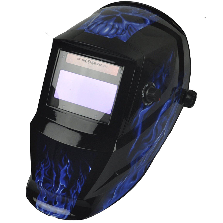 Instapark ADF Series GX600 Solar Powered Auto Darkening Welding Helmet with Adjustable Shade Range #5 #13