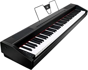 Souidmy G-310W   88 Key Digital Piano with Full Weighted Graded Hammer Action, String Resonance, Bluetooth MIDI, for Beginner and Professional, Electric Piano Keyboard with Sustain Pedal and Bag