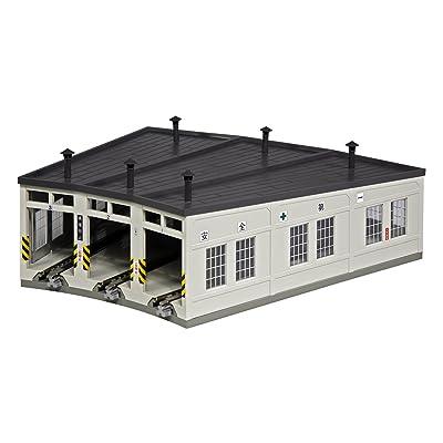 Kato 23-240 N 3-Stall Roundhouse by Kato: Toys & Games